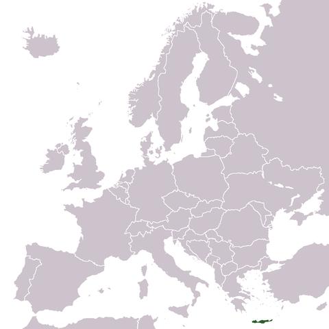 Karta Varlden Europa.Kartor Over Kreta Om Kreta