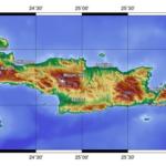 Topografisk karta Kreta