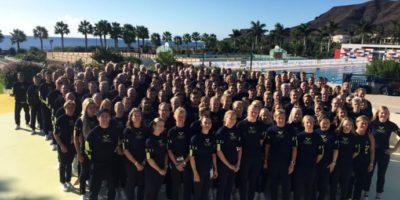 Olympic Camp hålls i år på Apollos sportanläggning Cavo Spada på Kreta
