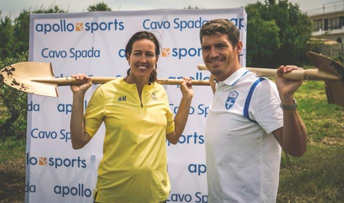 Therese Alshammar och Spiros Gianniotis